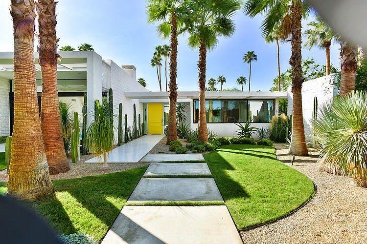 Dosis arquitectura lujosa residencia en palm springs - Maison plain pied deco orientale palm springs ...