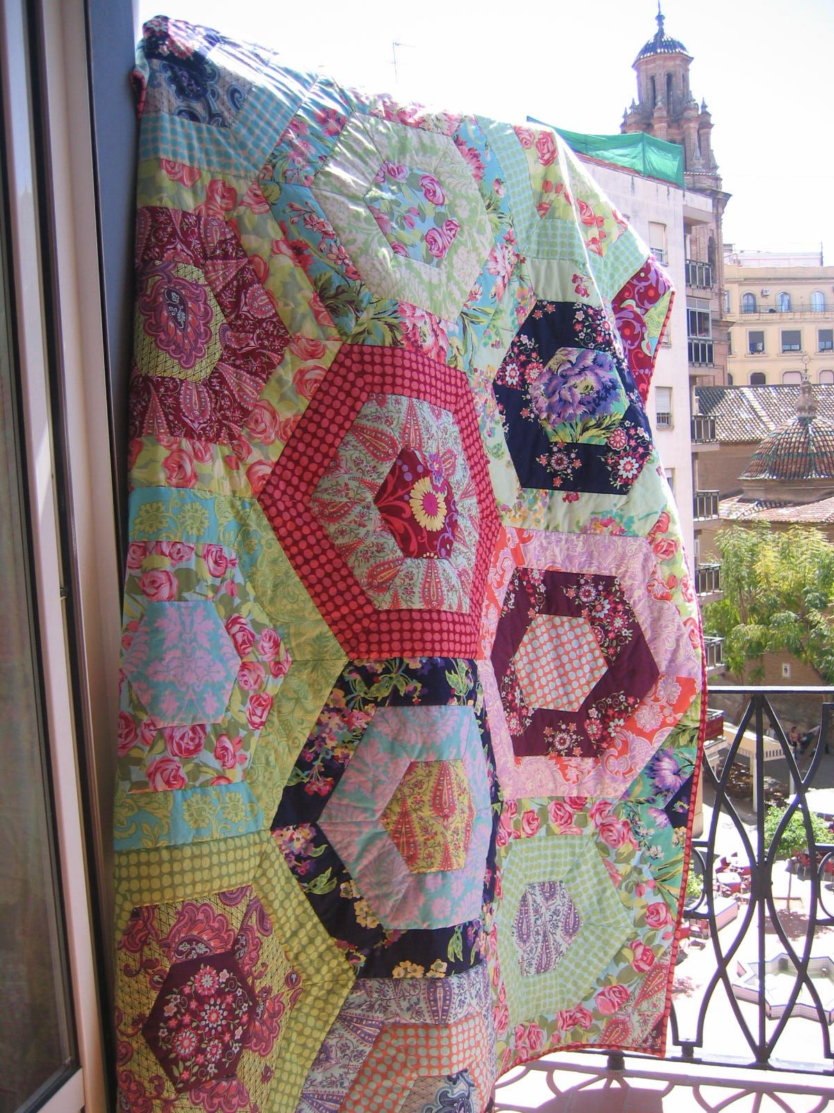 Love Quilt Hexagon Quilt Pattern Hexagon Quilt Quilt