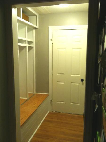 Bench Seat But With Storage Under Entry Closet Mud Room Storage Closet Conversion