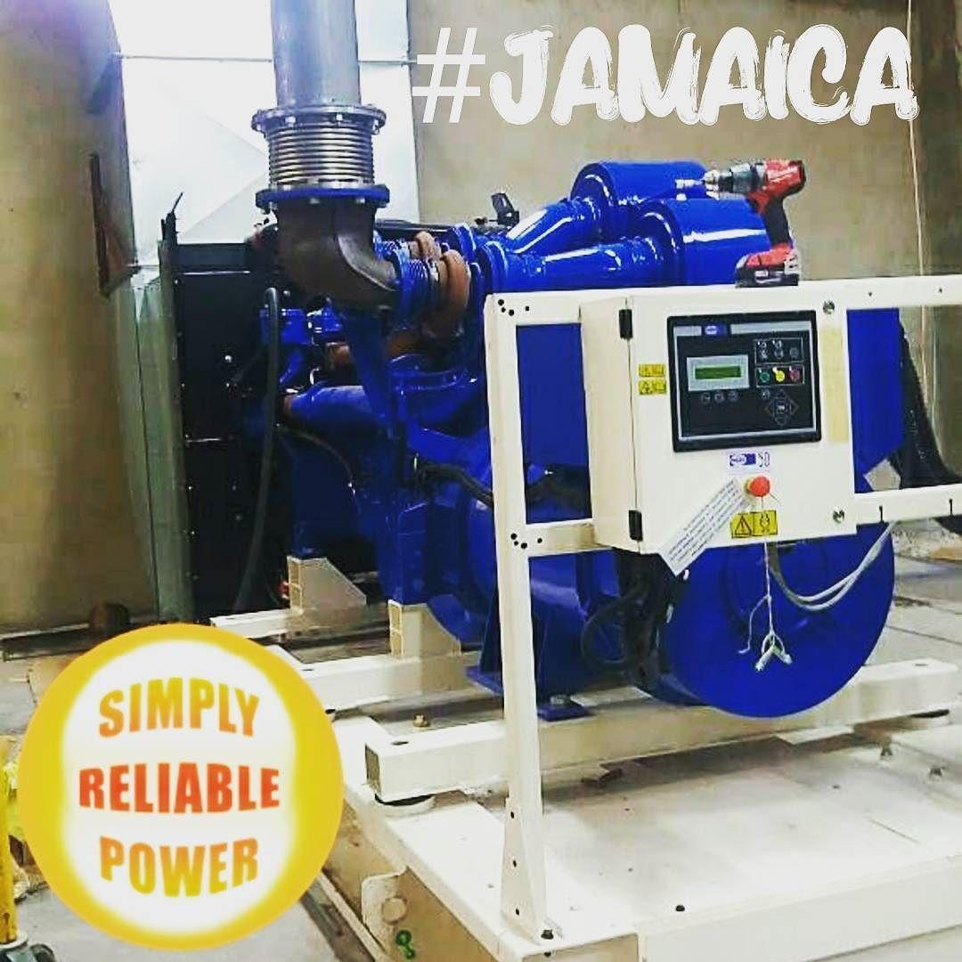 FGWilson P900E1 dieselgenerator in jamaica supplied by
