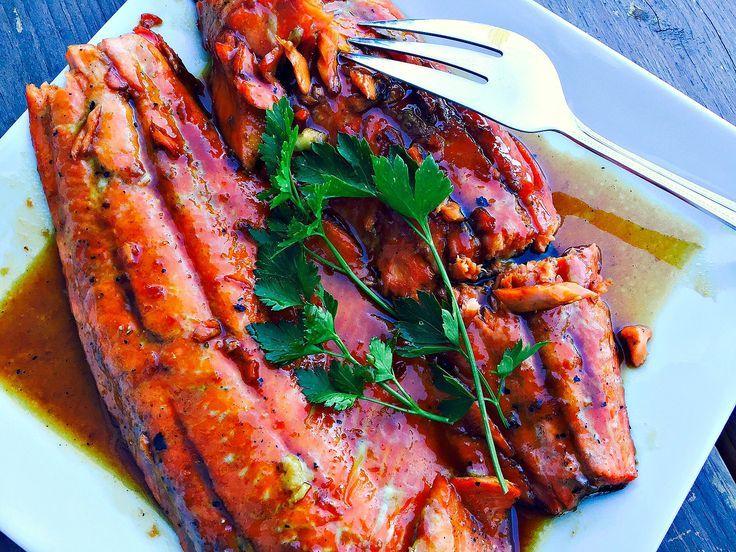 21 Day Fix Honey Glazed Salmon