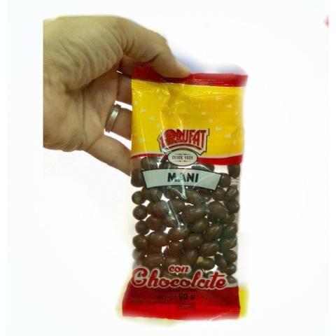 Mani Con Chocolate 90grs - Muy Barata La Golosineria