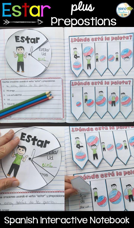 Spanish Interactive Notebook Activities For Teaching The Verb Estar Spanish Interactive Notebook Interactive Notebooks Spanish Interactive Notebook Activities [ 1224 x 720 Pixel ]