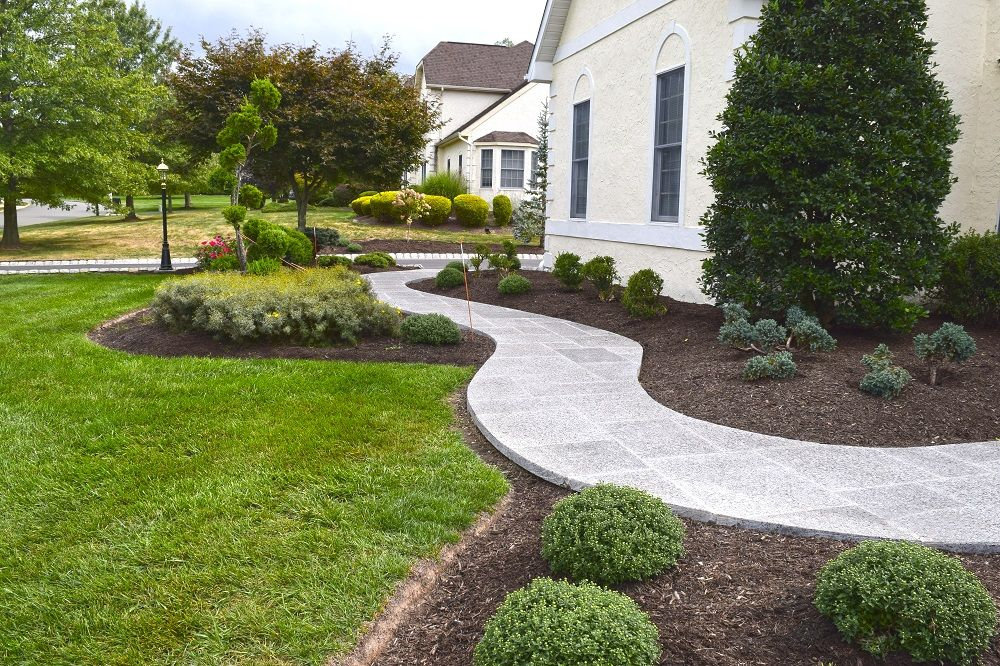 Walkways Patios Hardscape Walkway Landscaping Landscape Curbing
