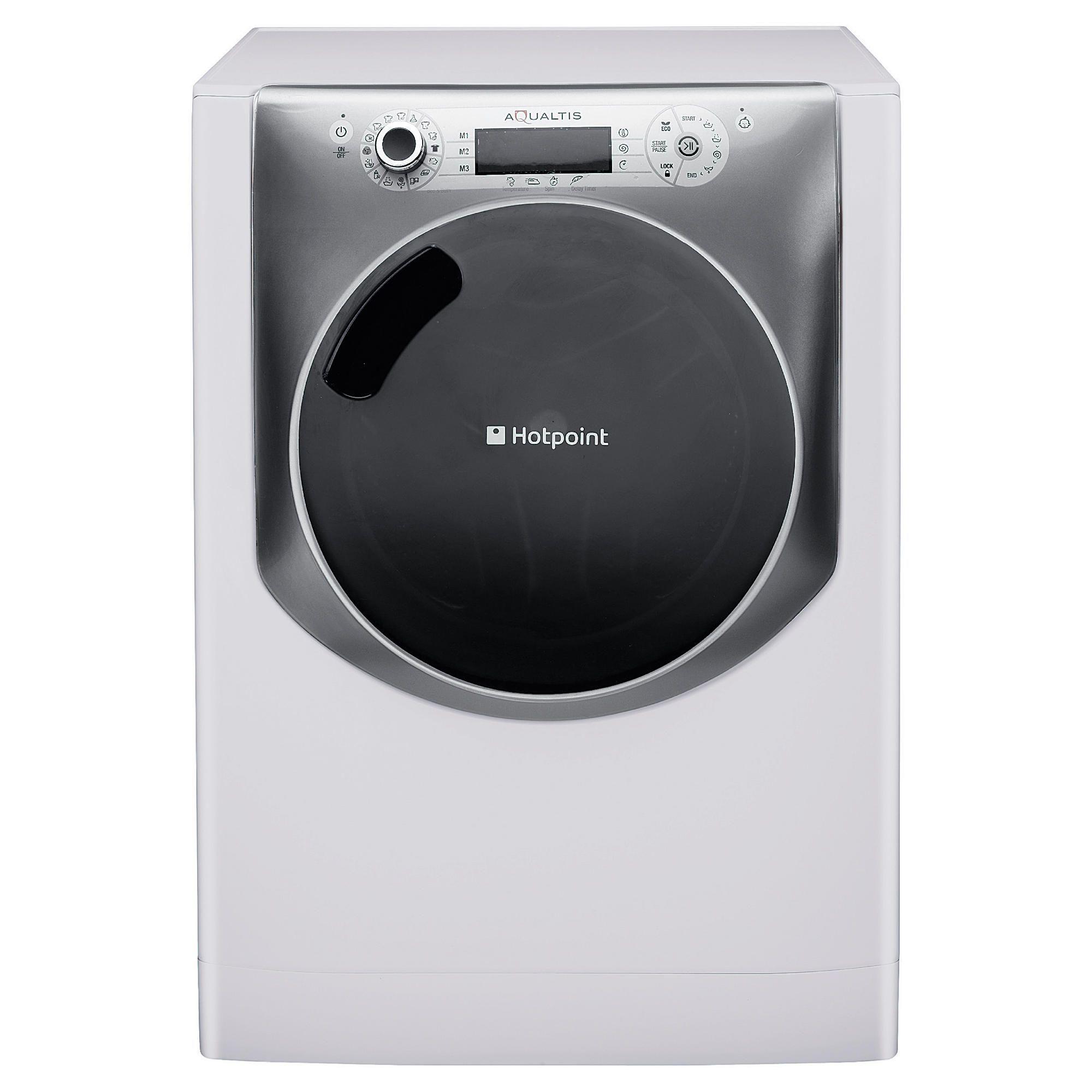 hotpoint aqualtis aq113l297e washing machine 11kg wash load 1200