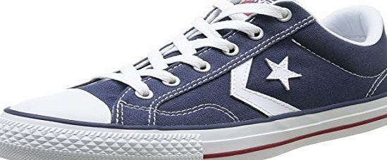 Unisex Adults Star Player Ox Navy/White/Black Trainers, Blue Converse