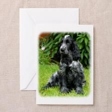 Cocker Spaniel 9W017D-014 Greeting Card for