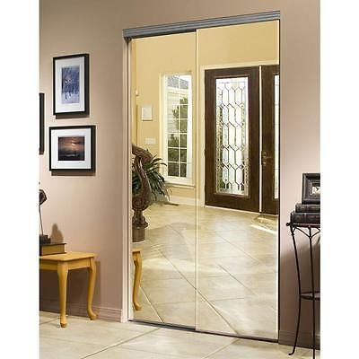 Doors 85892: Impact Sliding Beveled Mirrored Closet Doors 60 X 80 Chrome  Trim Bms5068 New