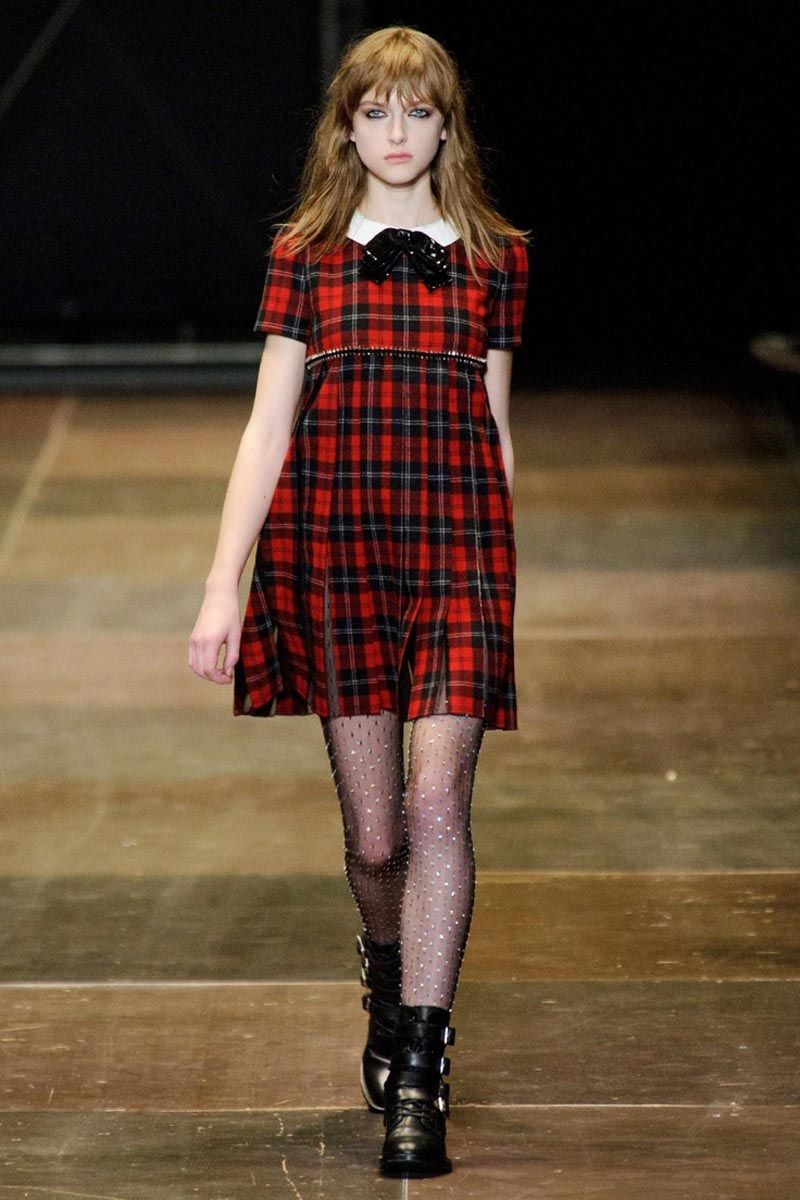 fc2bf1303c811 Throwback trend: The babydoll dress | I like this. | Runway fashion ...