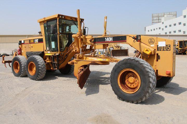 Caterpillar 140H motor grader for sale - Sharjah, Dubai, Abu