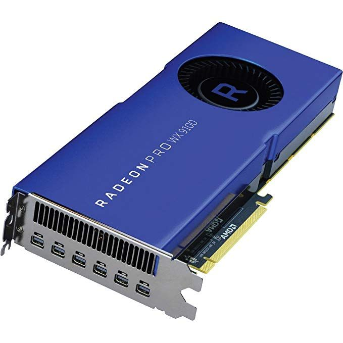 Amd Radeon Pro Wx 9100 Graphic Card 1 50 Ghz Core 16 Gb Review Graphic Card Amd 16gb