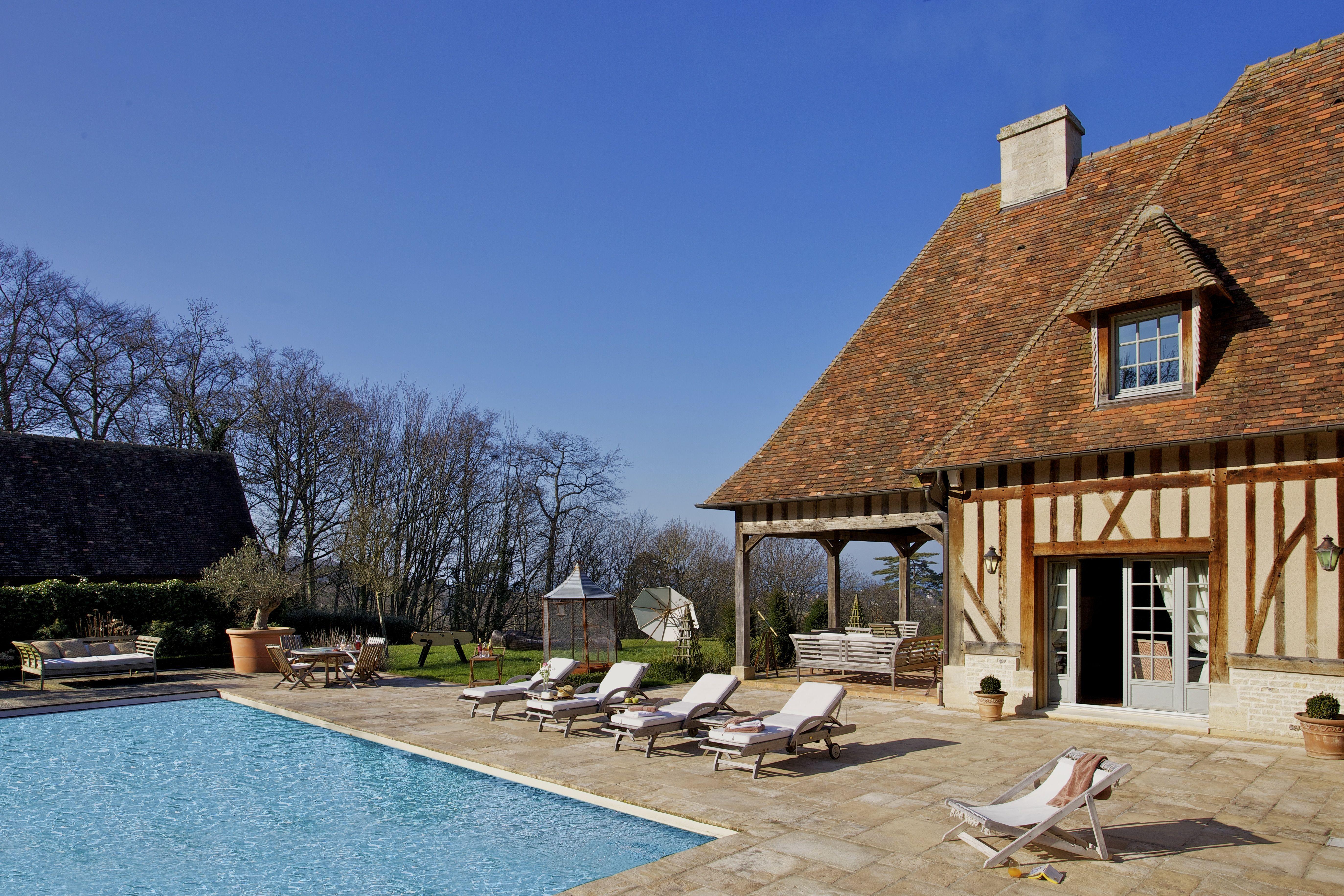 More On Http://www.lecollectionist.com/en/Luxury Villa Rental/Rent Luxury  Normandy Villas Deauville/deauville #leCollectionist #Deauville  #LuxuryHouse ...