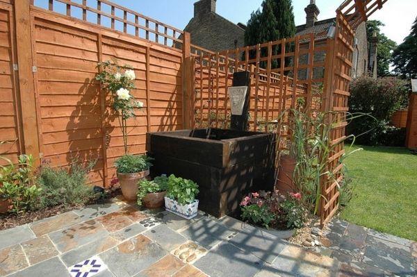 100 Gartengestaltung Bilder Und Inspiriеrende Ideen Für Ihren ... Ideen Fur Den Bodenbelag Im Garten