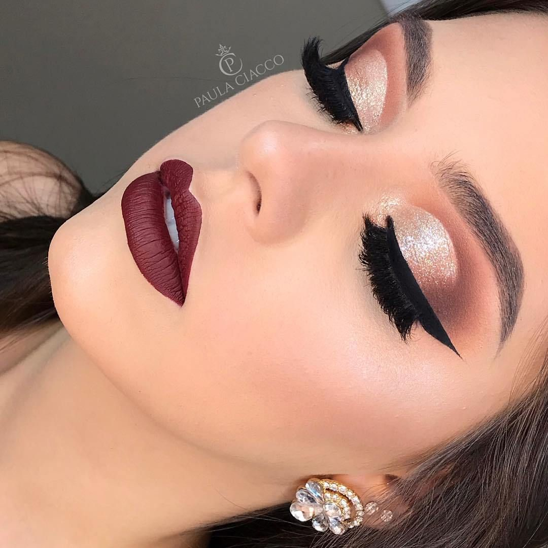 14 Absolutely Gorgeous Makeup Ideas Smokey Glam Makeup Makeup Eyemakeup Eyeshadow Eye Makeup Glam Makeup Look Party Makeup Looks