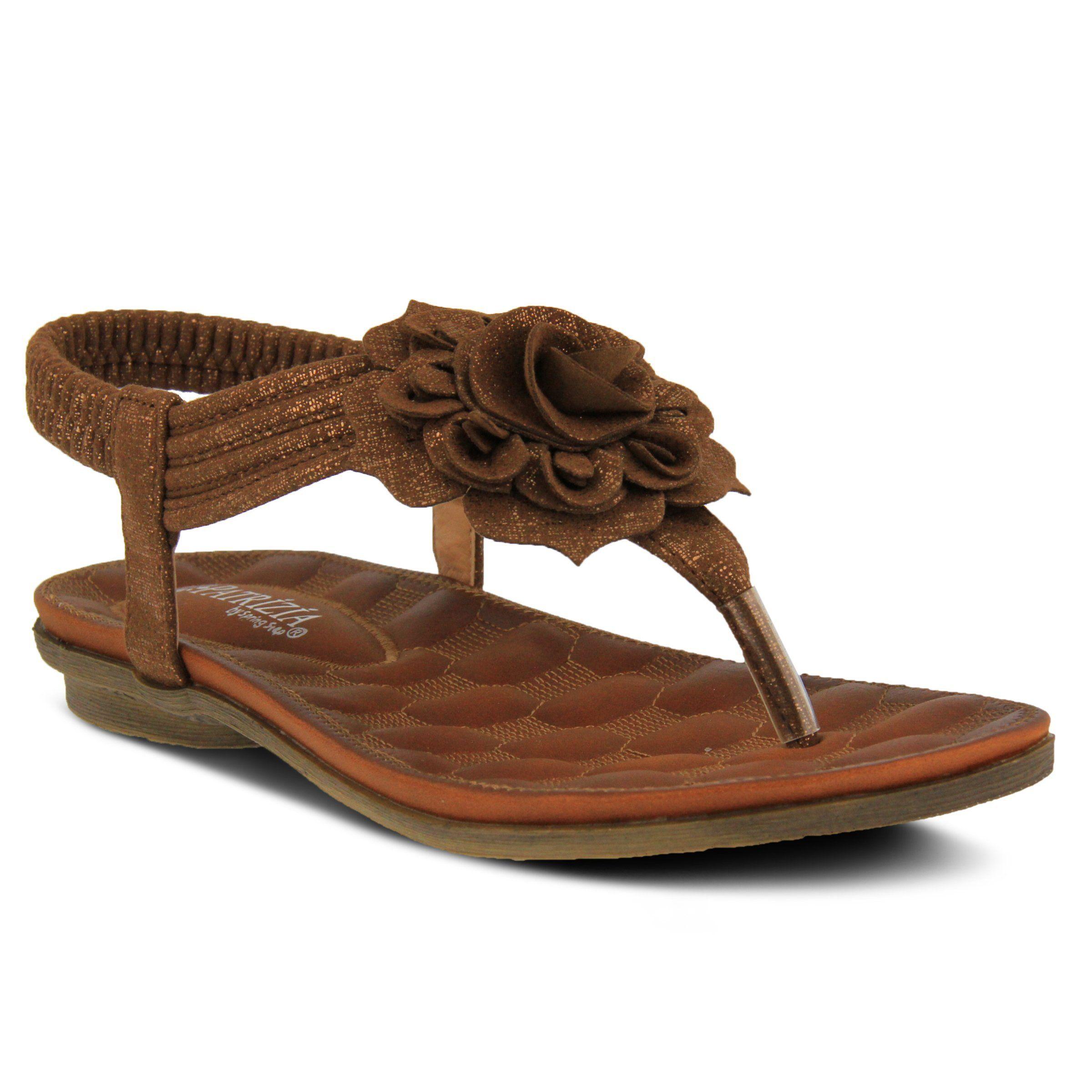 Patrizia by Spring Step CABERNET Womens Camel Comfort Sandals