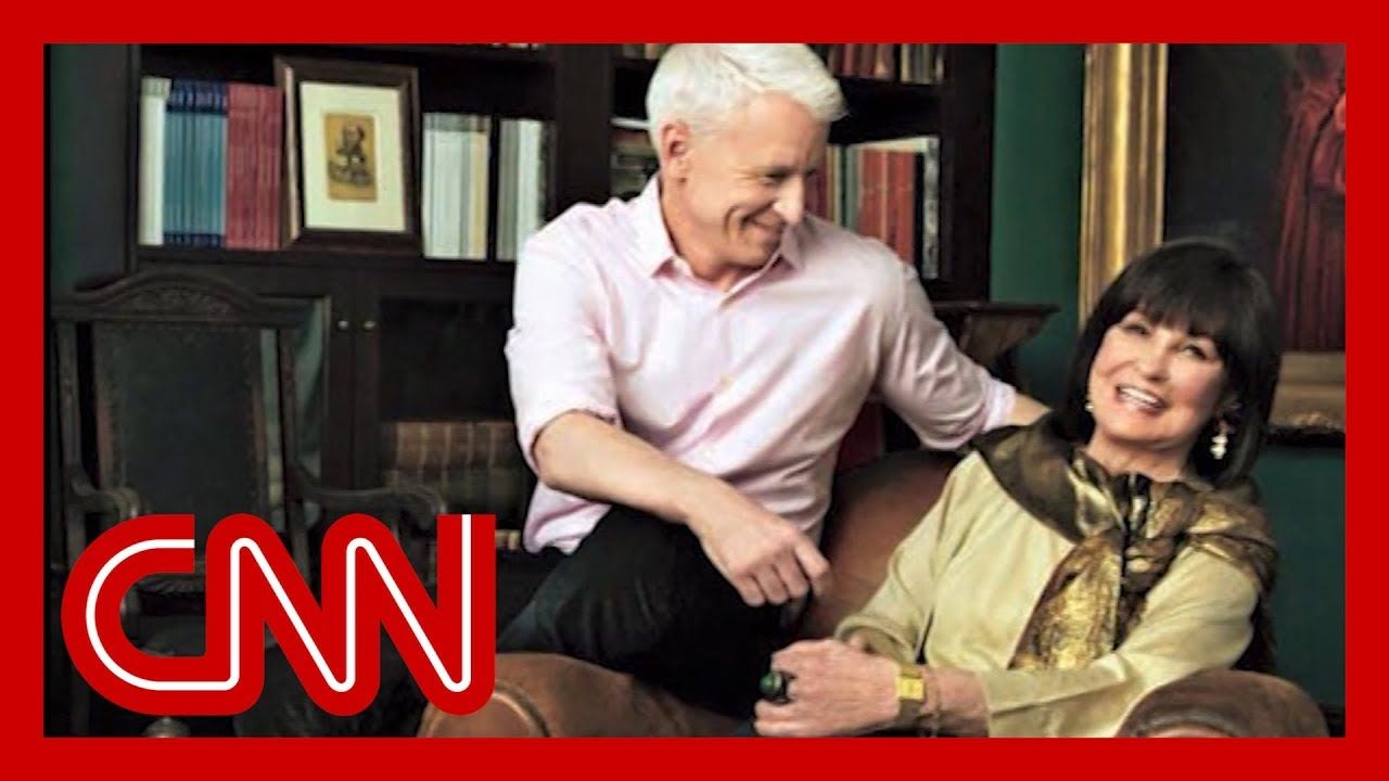 Watch Anderson Cooper's moving onair tribute to his mom