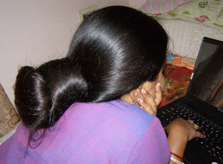 Indian Long Hair Bun Long Hair Styles Bun Hairstyles For Long Hair Big Bun Hair