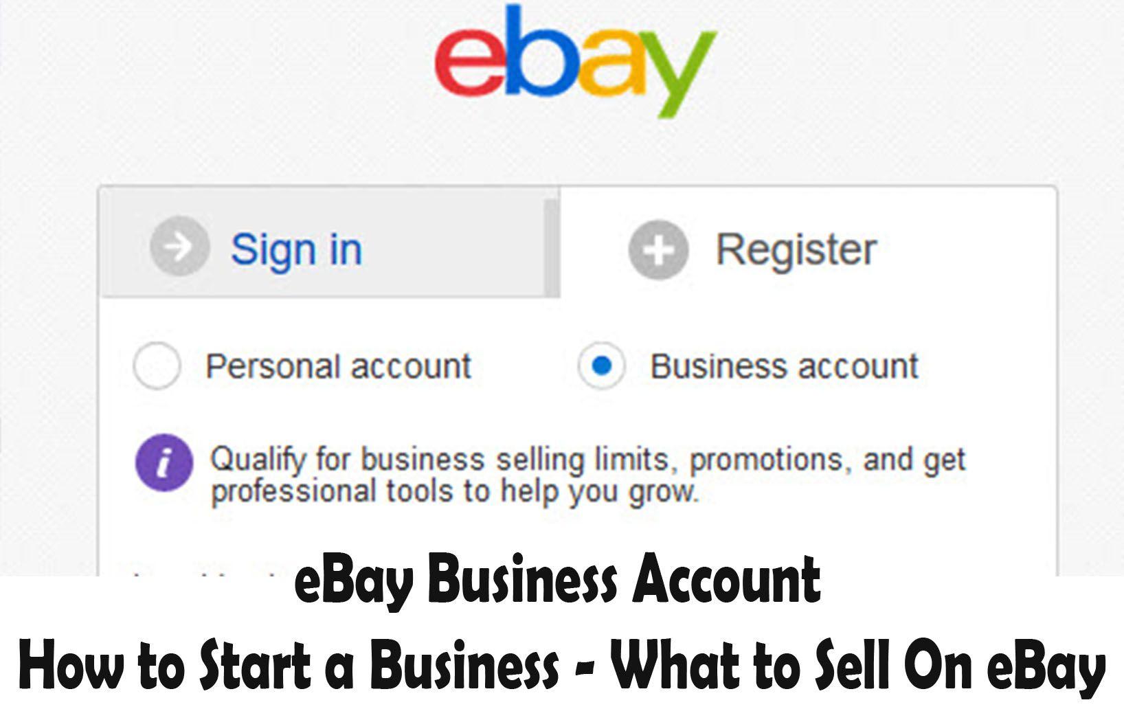 How To Start An Ebay Business How To Start An Online Business