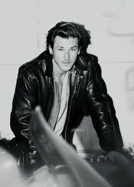 Josh Duhamel Photo By Hollymarilyn Photobucket Gaspard Ulliel Leather Jacket Leather Jacket Men