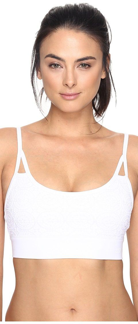 Lorna Jane Gypsy Sports Bra (White) Women's Bra - Lorna Jane, Gypsy Sports Bra, 121601, Apparel Top Bra, Bra, Top, Apparel, Clothes Clothing, Gift, - Street Fashion And Style Ideas