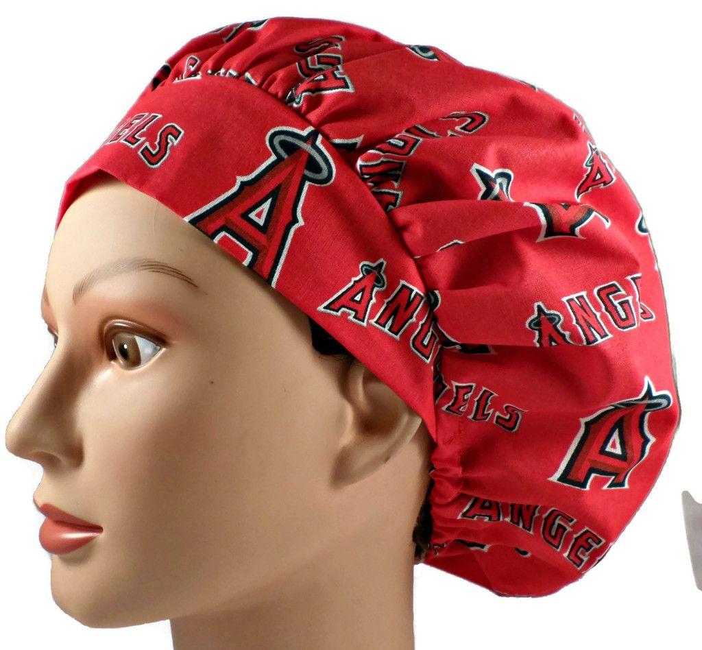 Embroidery · Women's Adjustable Bouffant Scrub Cap ...