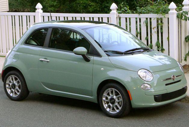 Verde Chiaro Color Fiat With Images Fiat 500 Fiat Fiat Cars