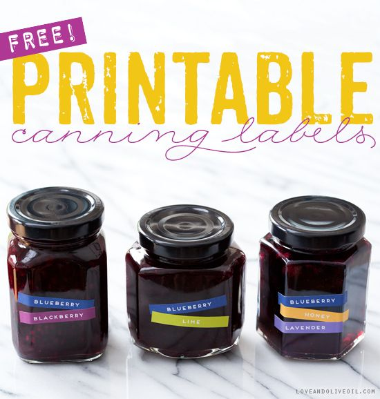 chutney label templates - mix n match free printable canning labels blueberry jam