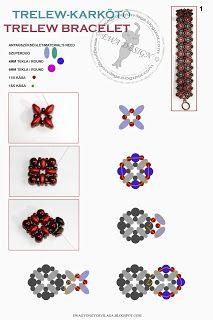 Ewa gyöngyös világa!:  bracelet pattern