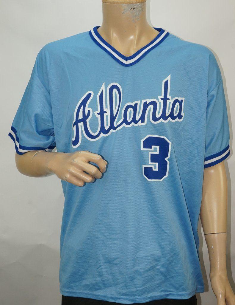 Dale Murphy Atlanta Braves Retro Throwback Jersey Mens Large Atlanta Braves Braves Atlanta