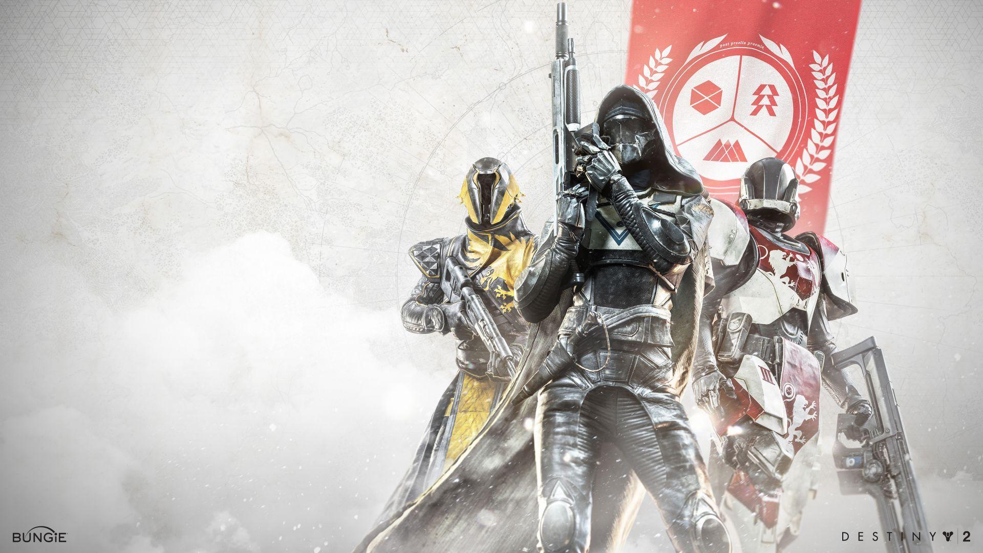Destiny 2 Warlock Hunter Titan 4k Wallpapers Destiny Hd Wallpaper Wallpaper
