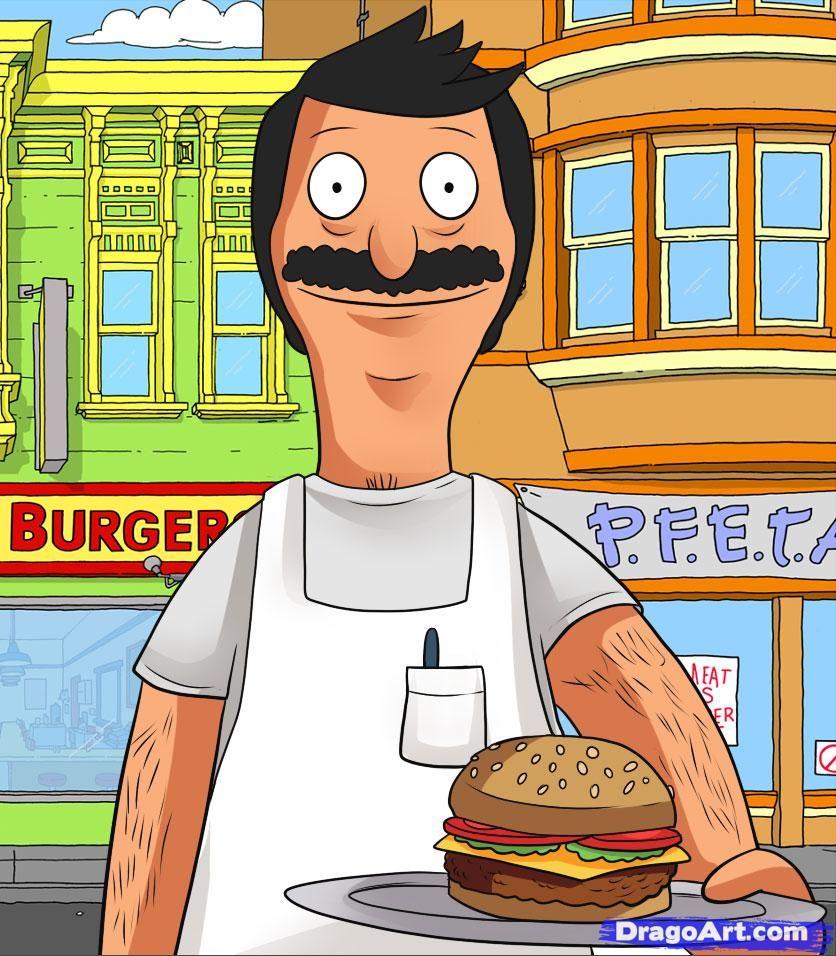 how to draw bob, bobs burgers | halloween 2015 | pinterest | bobs
