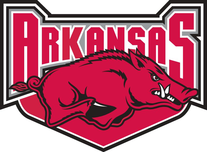 Arkansas Razorbacks Alternate Logo - NCAA Division I (a-c