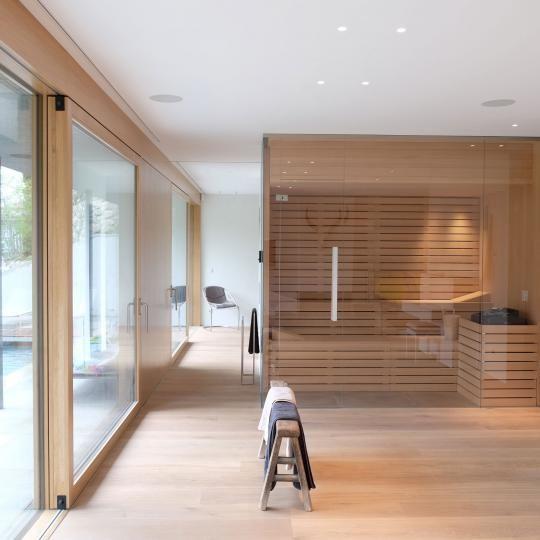 Haus WE » lynx architecture wellness  wellness Pinterest - outdoor küche holz
