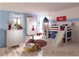 Výsledok vyhľadávania obrázkov pre dopyt poschodová posteľ so šmýkačkou