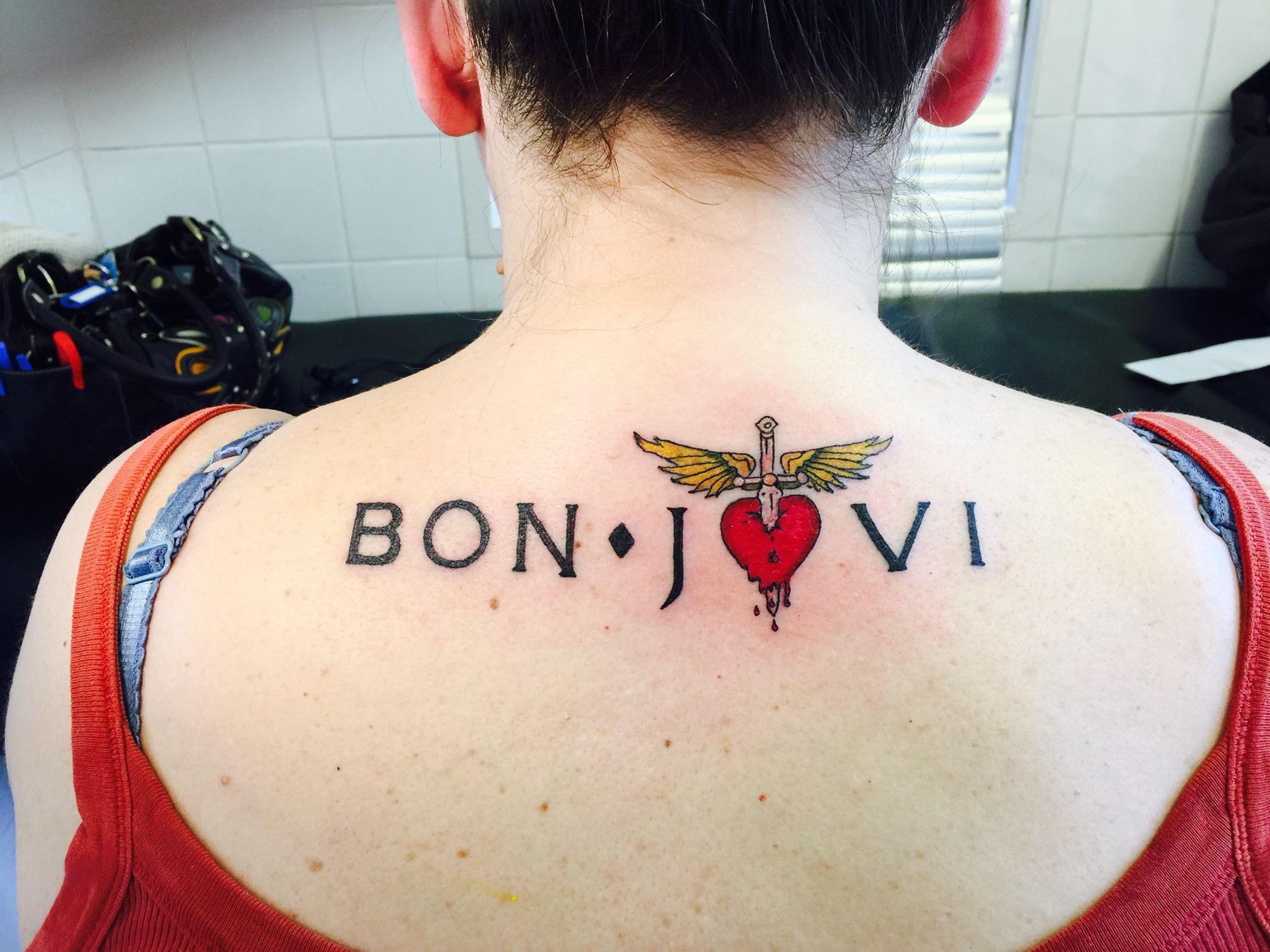 Bon jovi tattoo Tatuagem, Tatoo, Tatuagens