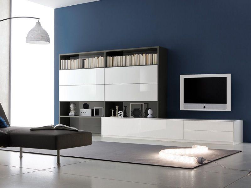 parete grigio cucina - Cerca con Google | parete colorata cucina ...