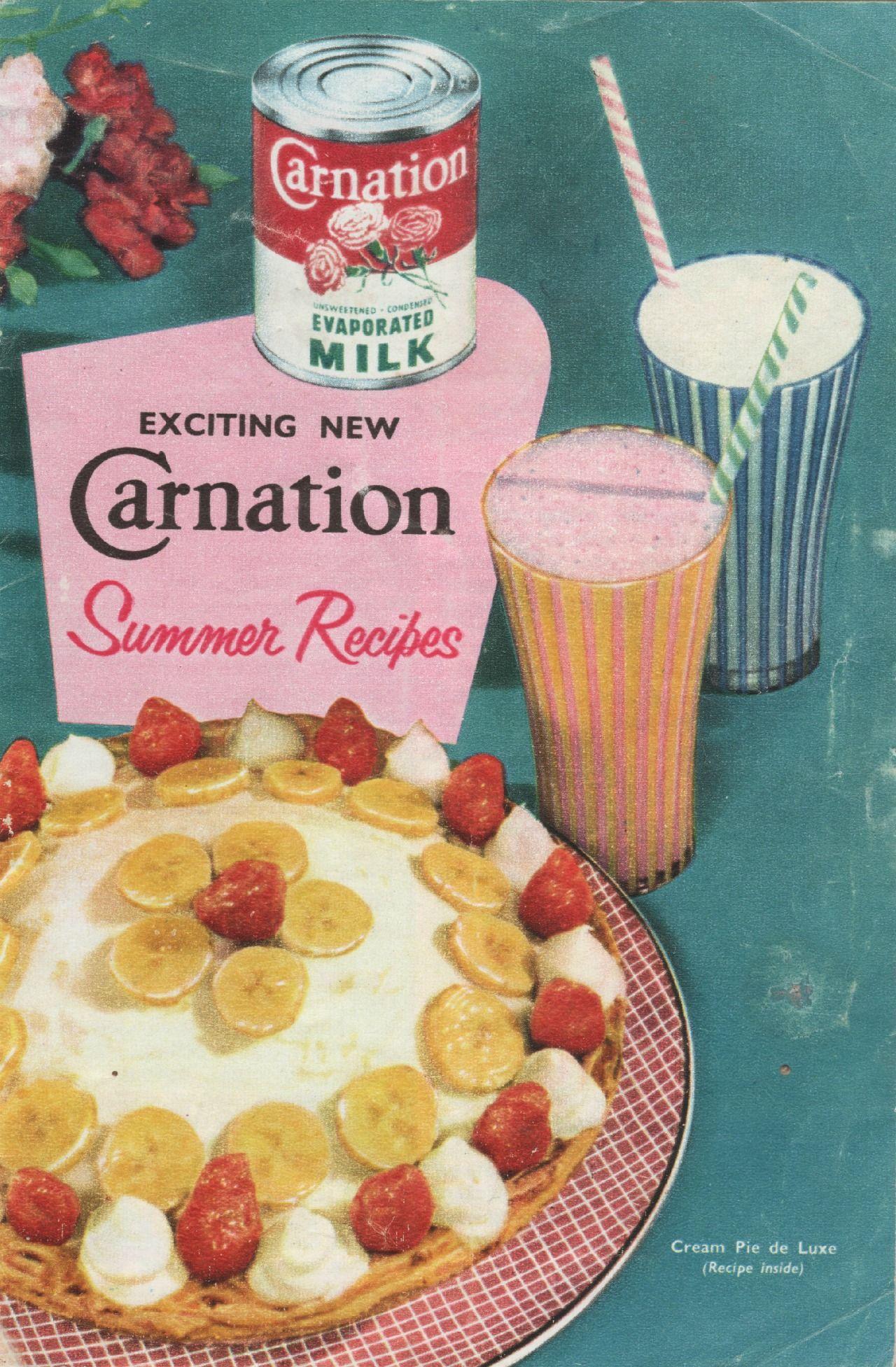 Vintage carnation milk summer recipes book yummy desserts vintage carnation milk summer recipes book forumfinder Images