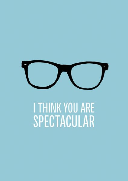 f9a14be0ec You are spec - tacular! ;) #epos #quotes #eyewear | Optica | Lentes ...
