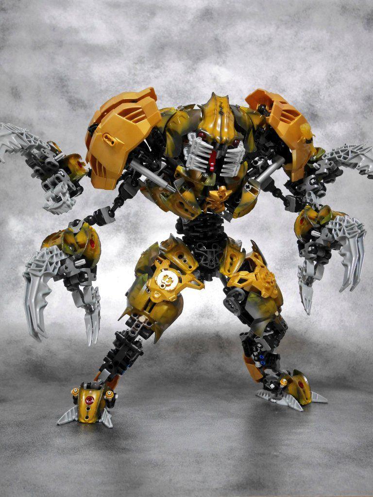 LEGO Bionicle limited edition CUSTOM BOTS