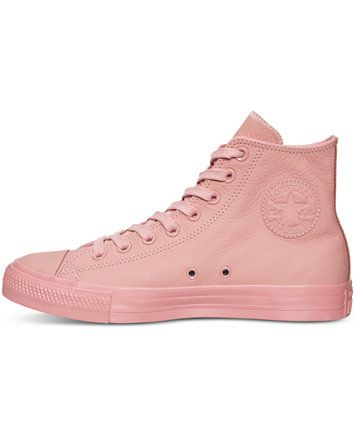 d63e049e8652 Converse Women s Chuck Taylor Hi Pastel Leather Casual Sneakers from Finish  Line