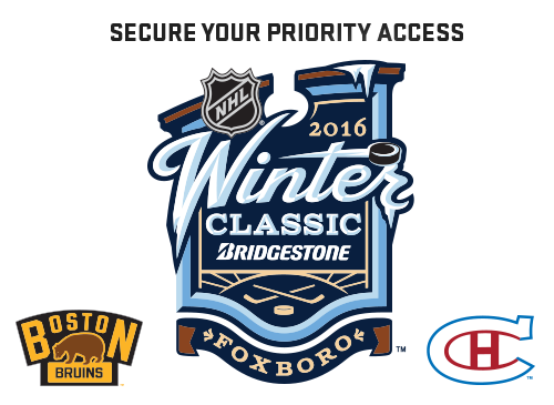 Secure Your Access to the 2016 Bridgestone NHL Winter Classic
