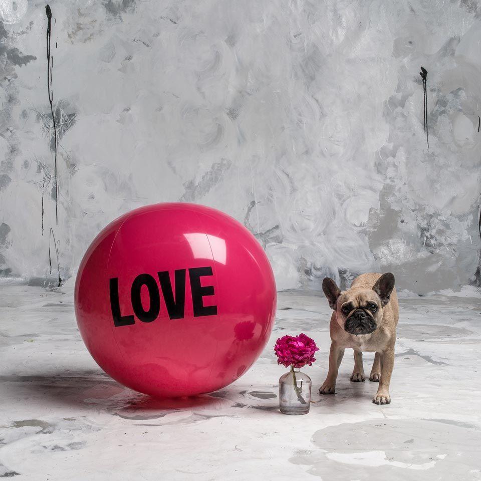 2 foot Big Love Ball with Mrs. P | Color : Flirt | Photo by Bob Garlick