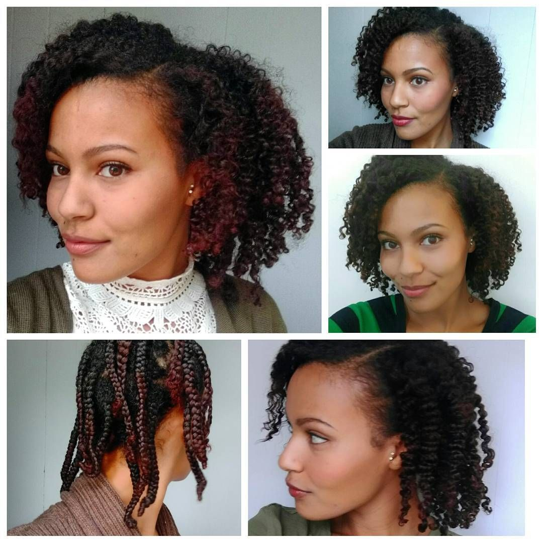 My Braid Out Over The Past Few Days From Doo Doo Plaits To Big