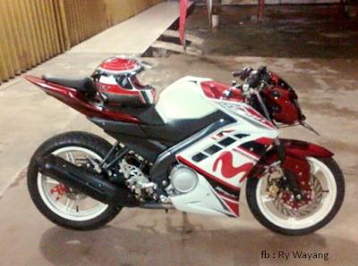 Modifikasi Motor Yamaha New Vixion Paling Keren 2016 Motor Ganteng