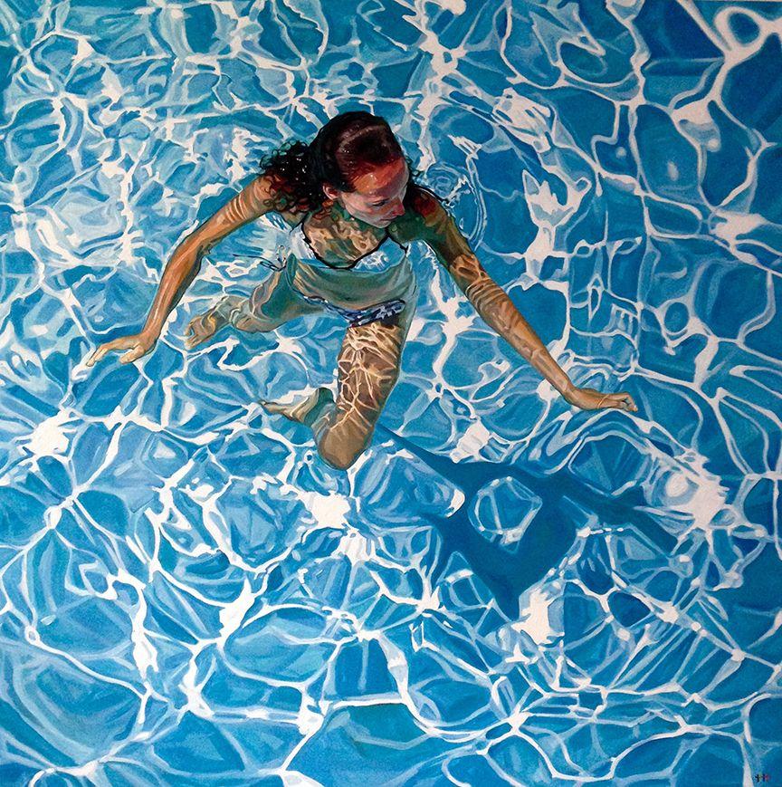 Danielle, Treading | Heather Horton Artwork | Underwater ...