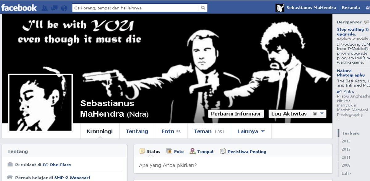 Sebastianus Mahendra Blog Cara Buat Sampul Fb Yang Keren Download Cara Edit Foto Profil Fb Menyatu Dengan Foto Sampul Download Di 2020 Pengeditan Foto Gambar Lucu