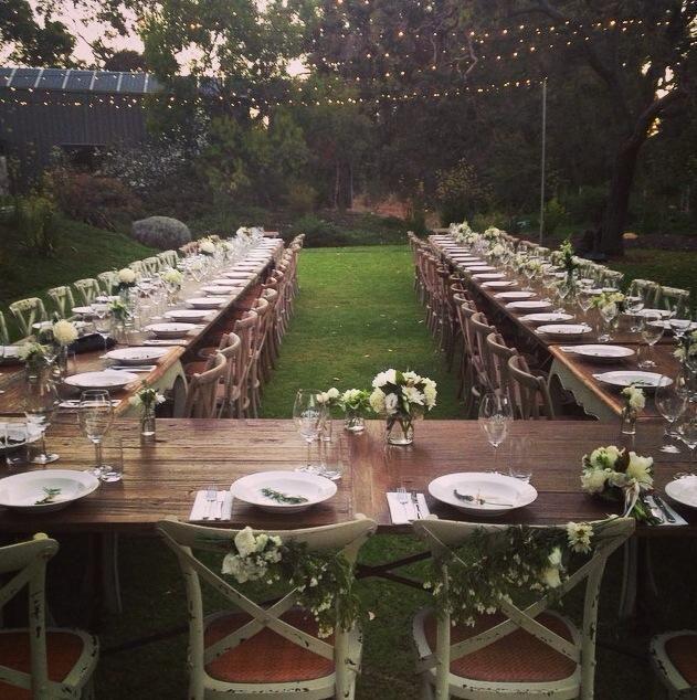 Fairy Lights Wedding Reception Ideas: Arimia Wedding. Garden Winery Wedding. Fairy Lights