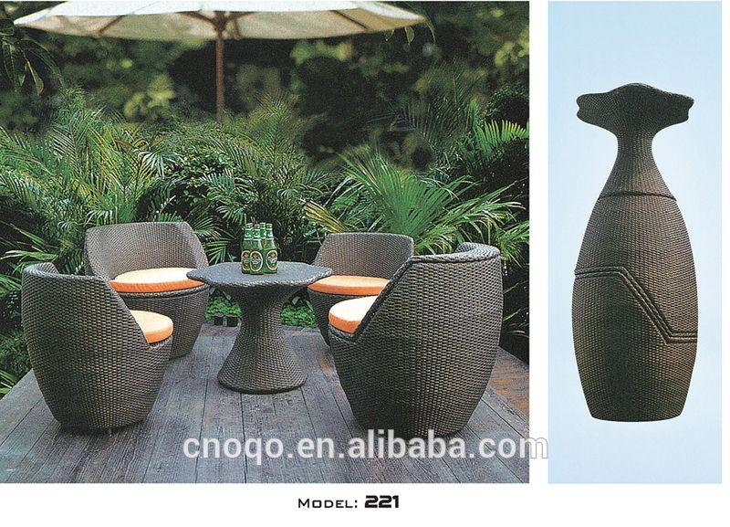 China Fabricante de Ratán Jardín Al Aire Libre Sofá/Sofá Muebles ...