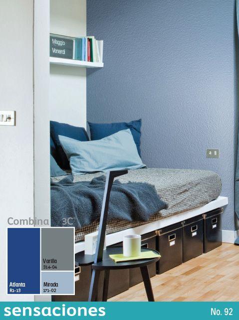 Las Tonalidades Oscuras Le Dan Profundidad A Los Espacios Pequenos Encuentra Mas C Paletas De Colores Para Dormitorio Colores Para Dormitorio Decoracion Hogar