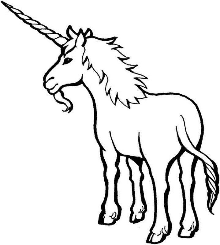 Free Printable Unicorn Coloring Pages For Kids | Pegaso y Unicornios